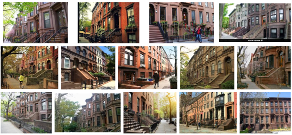 Brooklyn Brownstone townhouses